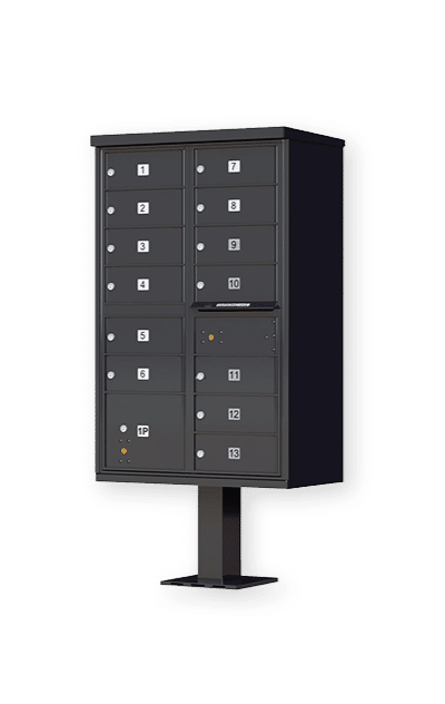 tall cluster mailbox