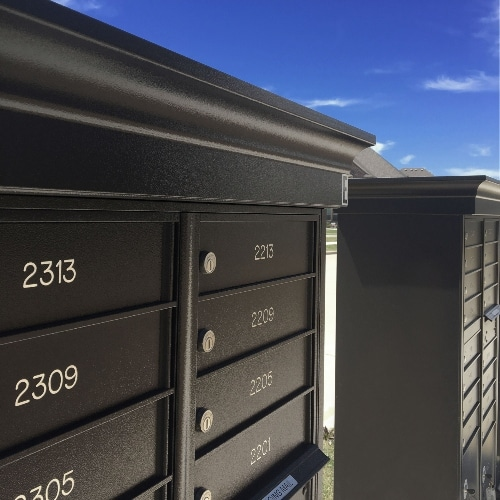 two cluster mailboxes